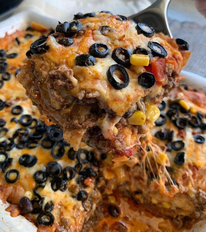 mexican style lasagne