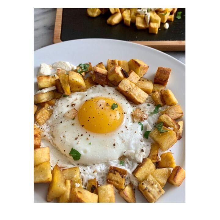 ecuadorian breakfast green plantains hash eggs