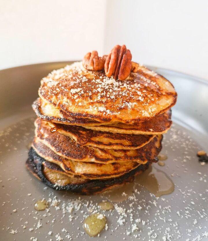 nutty pancakes