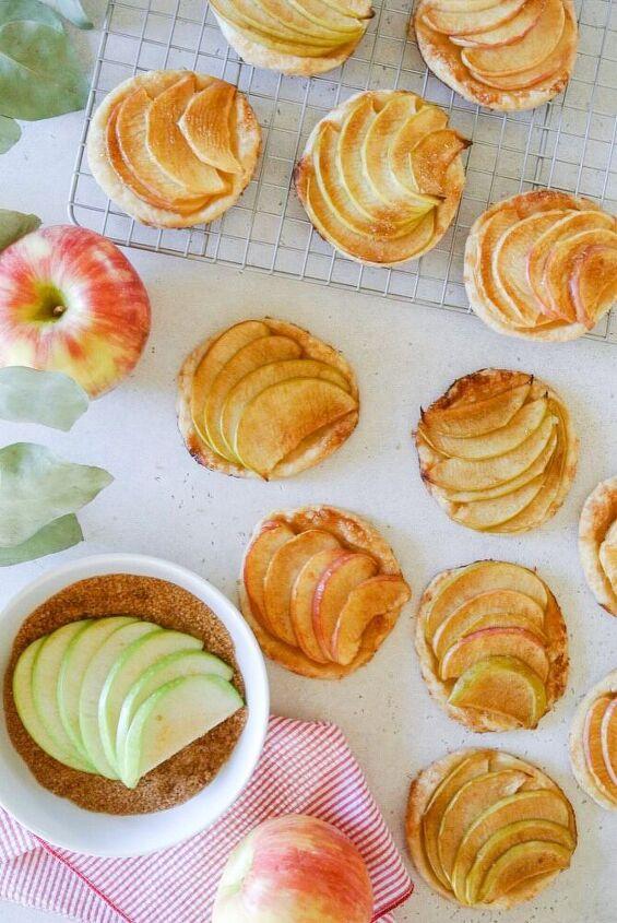 apple cinnamon tartlets