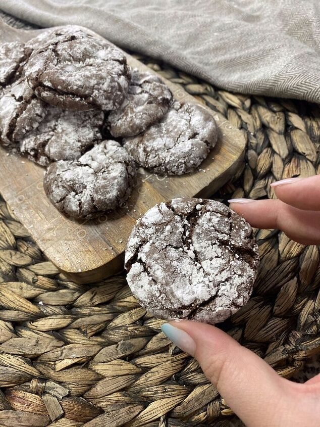 cake mix crinkle cookies