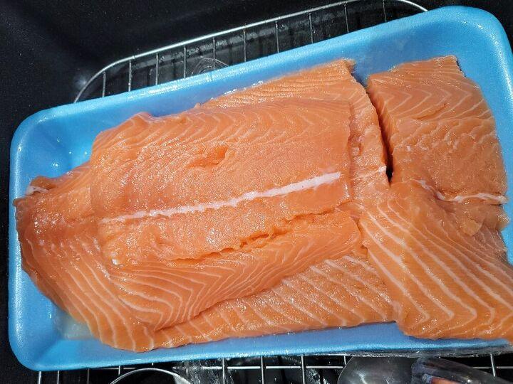 salmon 3 ways