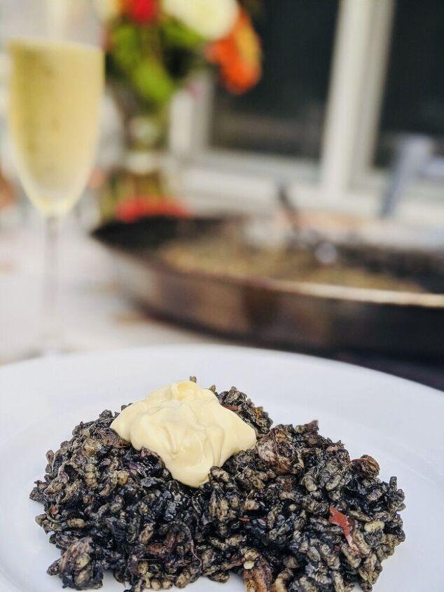 arr z negro black squid ink rice