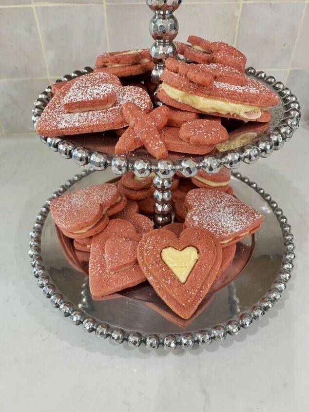 soft chewy valentines sugar cookies, Cookies