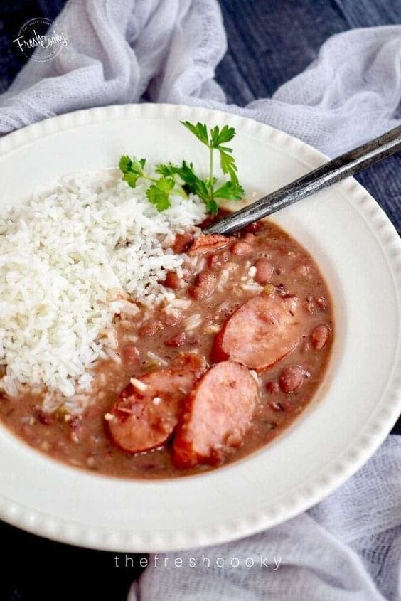 slow cooker red beans rice