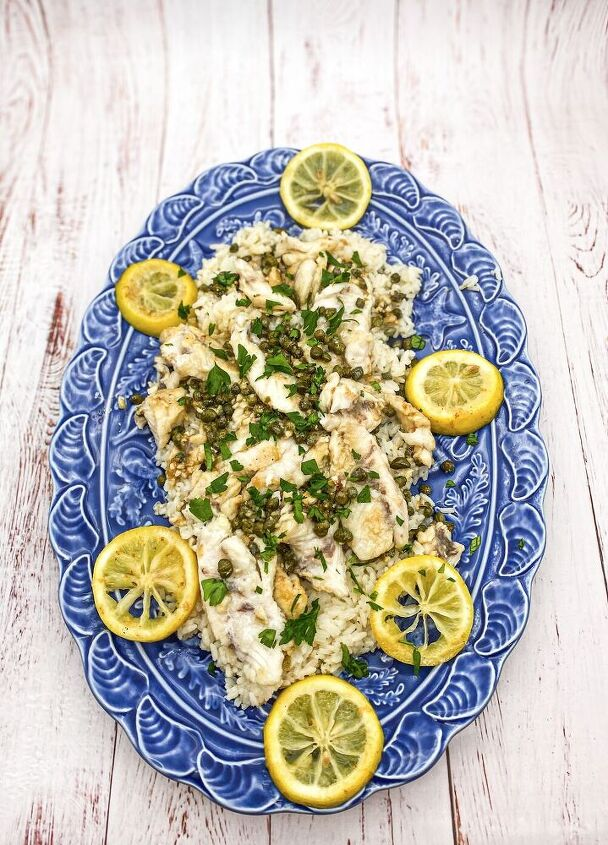 mangrove snapper with butter lemon and capers