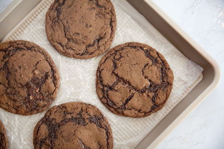 chocolate peanut butter filled cookies