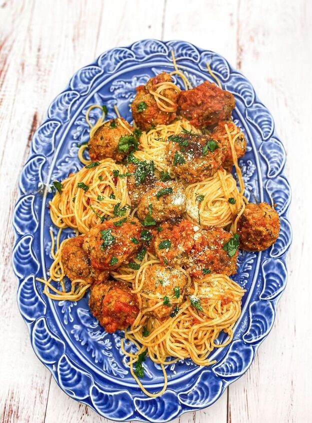 the most comforting spaghetti and meatballs