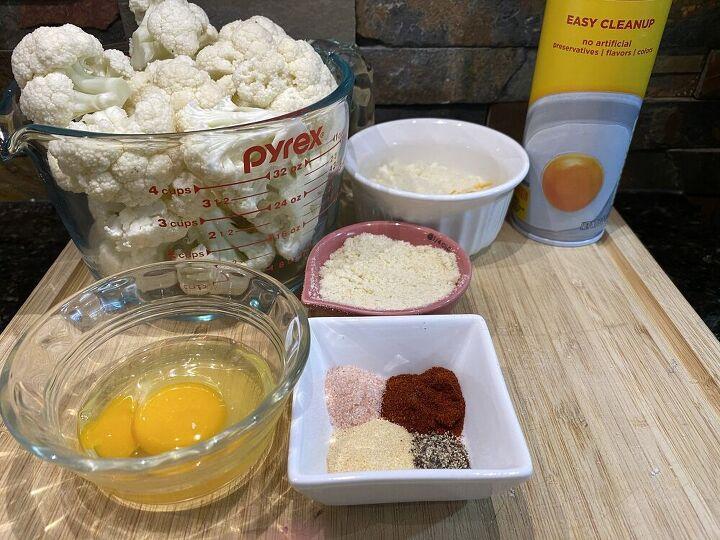 homemade gluten free cauliflower tots recipe