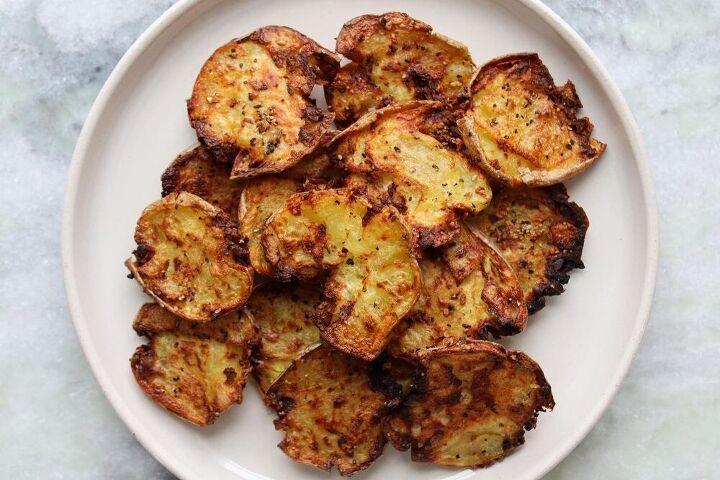 crispy smashed potatoes air fried