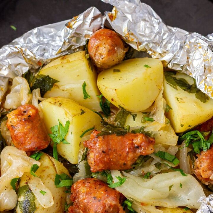 shrimp foil packet