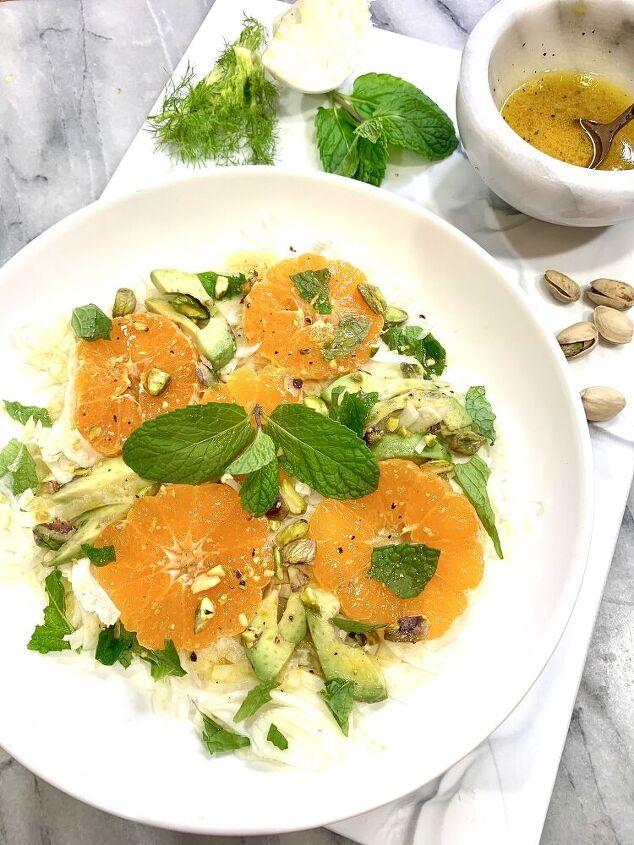 citrus fennel goddess salad