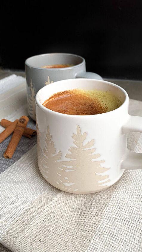 golden milk latte