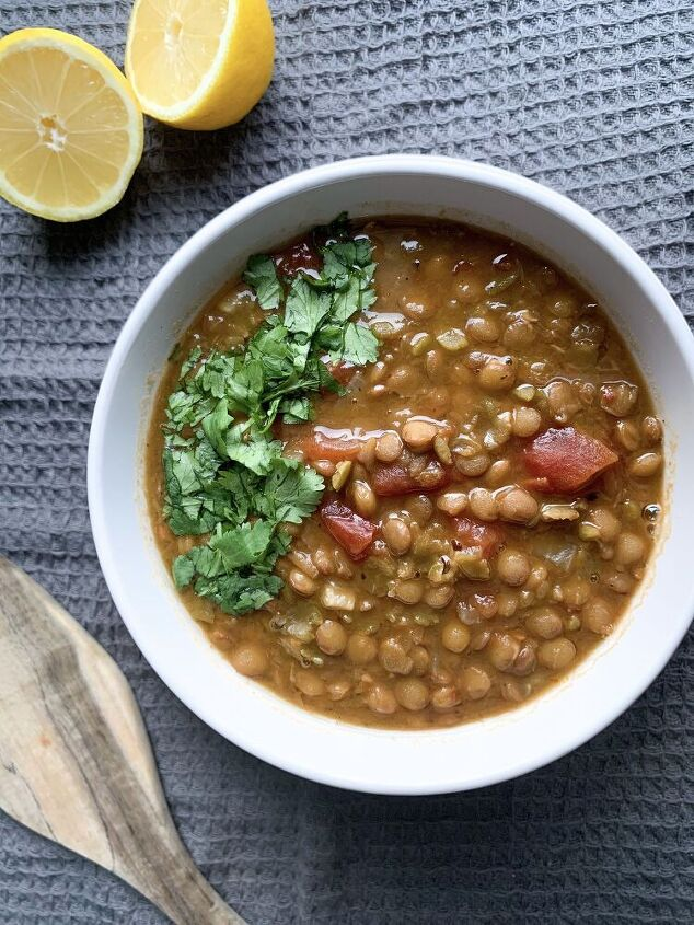 tomato lentil soup middle eastern style