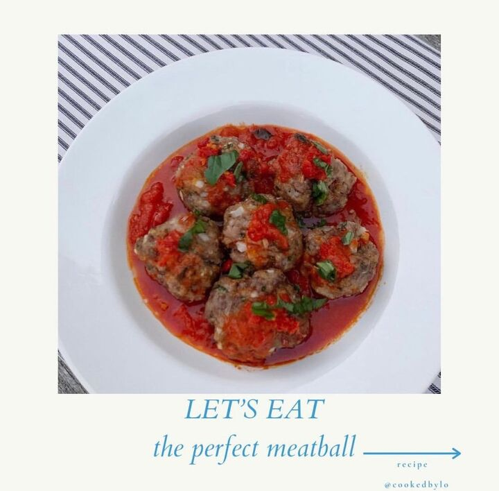 the perfect meatball, How to make the perfect meatball