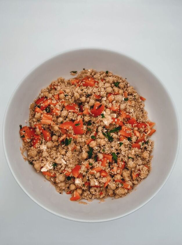 quinoa salad in instant pot