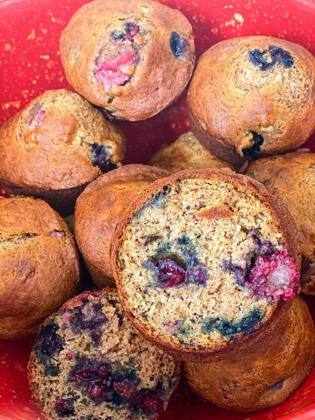 five fruit muffins