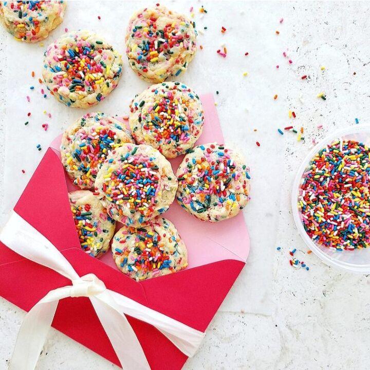 small batch funfetti cookies