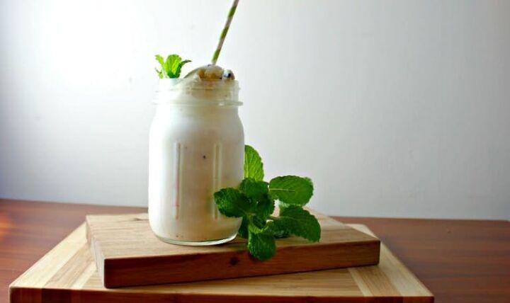 natural mint shamrock shake