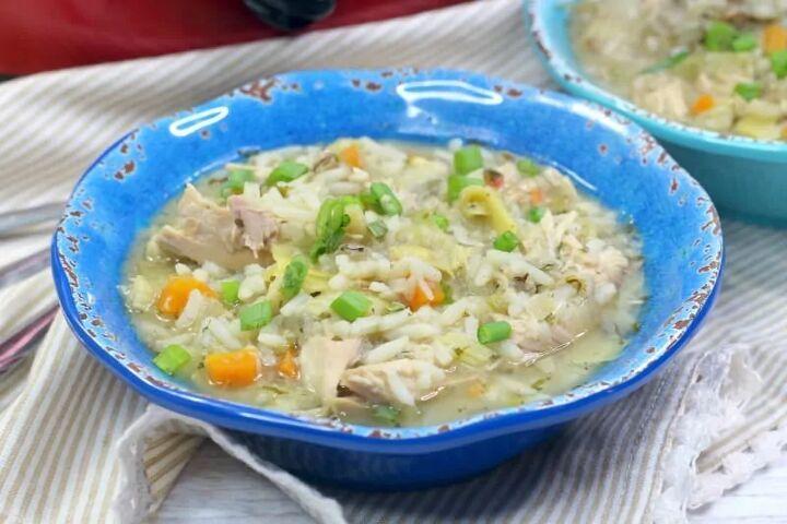 chicken artichoke soup
