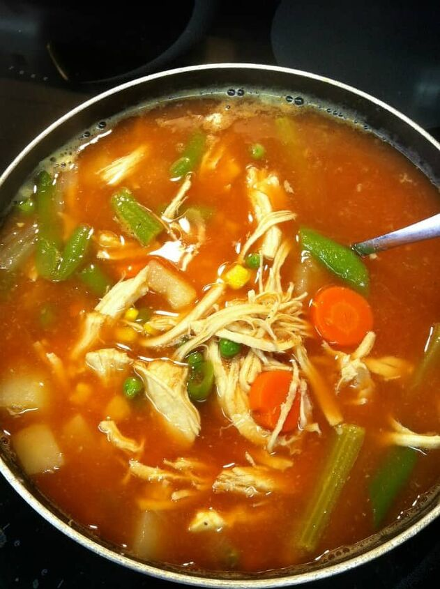 italian bean soup with chicken