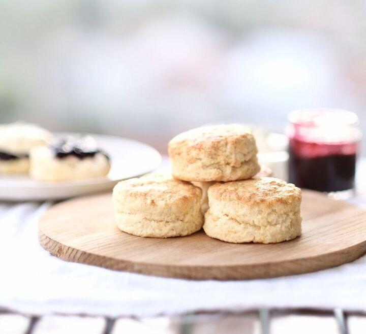 scones and home made jam