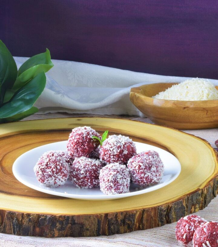 beetroot coconut balls beet coconut halwa truffles