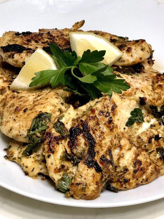 greek chicken filets