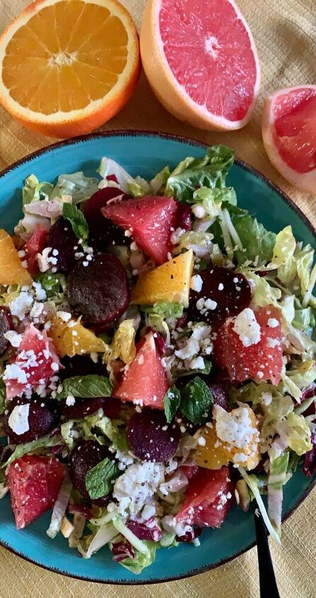 i mint to beet you to this salad