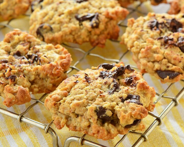 s 3 delicious recipes to make with oatmeal, Chewy Oatmeal Cookies