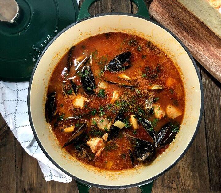 easy cioppino seafood soup