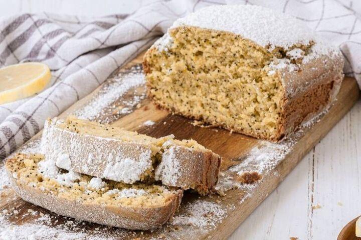 lemon poppy seed loaf cake recipe citrus inspired vegan dessert
