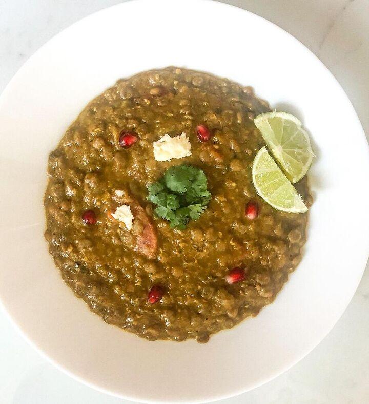 lentils turmeric soup