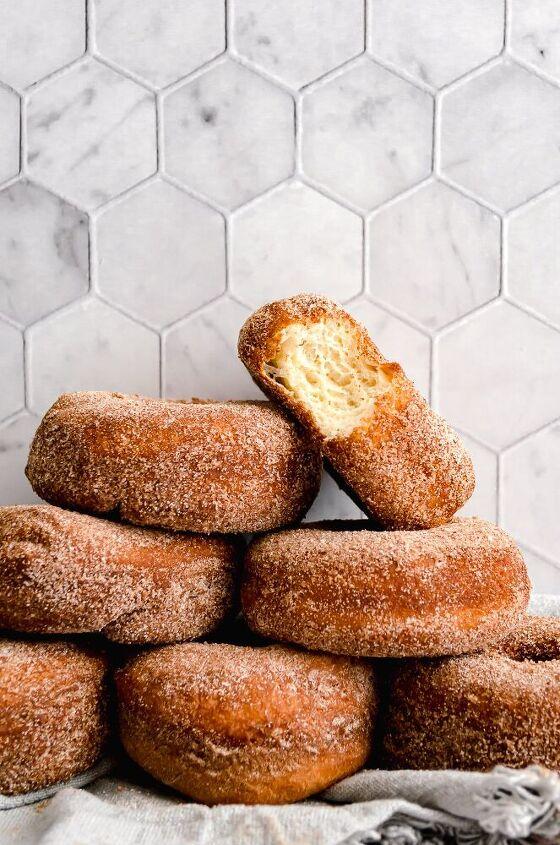 cinnamon sugar buttermilk brioche donuts