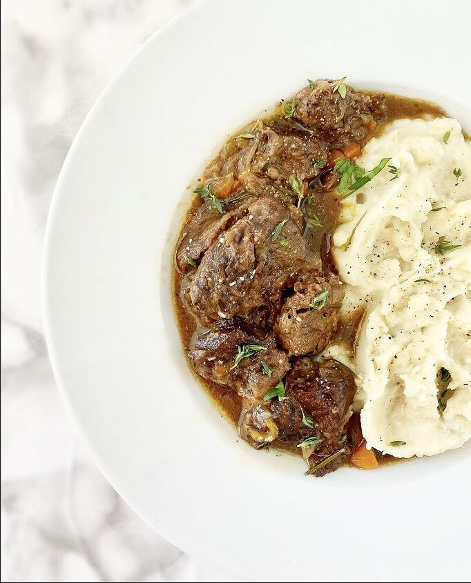 oven braised beef