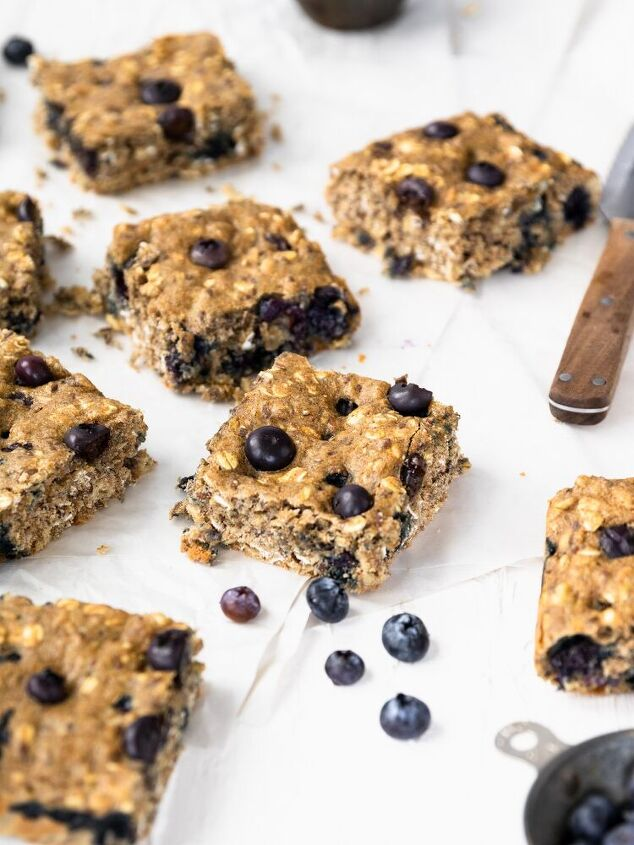 oatmeal breakfast bars, Delicious and healthy oatmeal breakfast bars