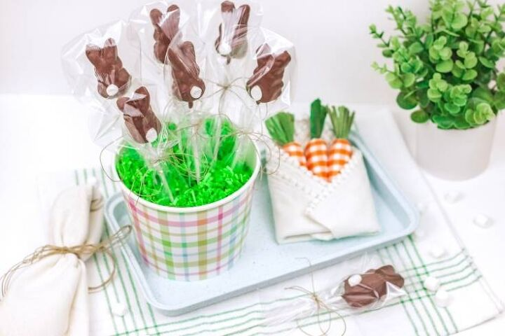 how to make chocolate covered peeps for easter treats