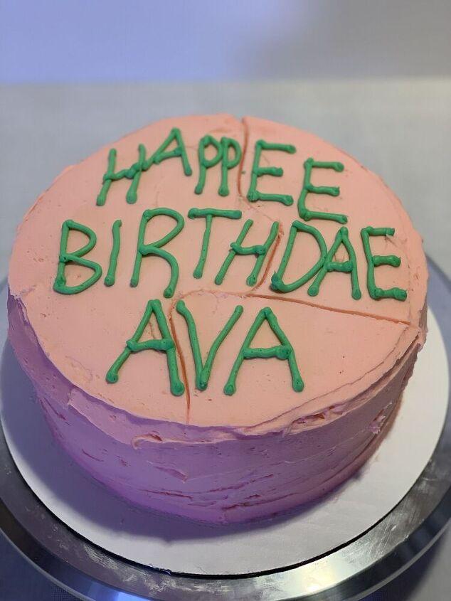 happee birthdae harry potter birthday cake