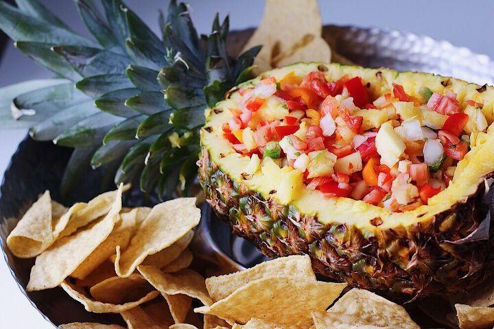 the hospitality pineapple salsa bowl