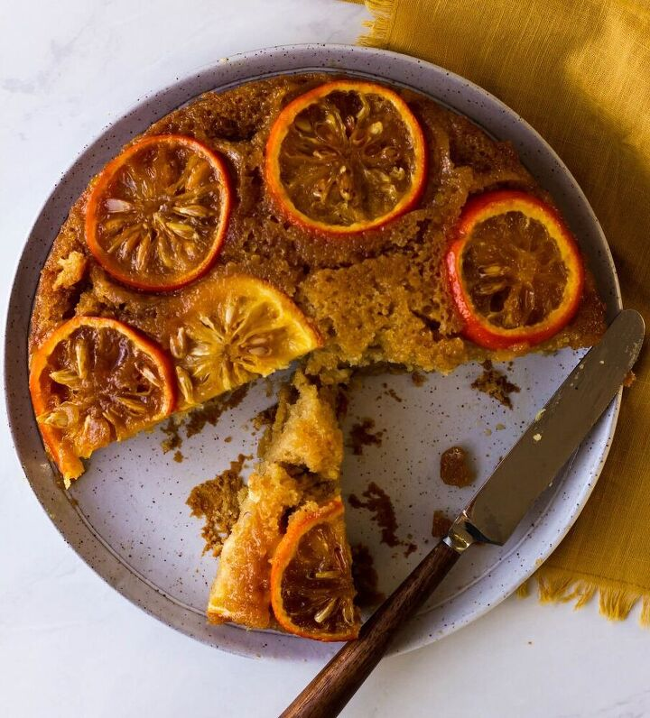 sour orange and tequila upside down cake