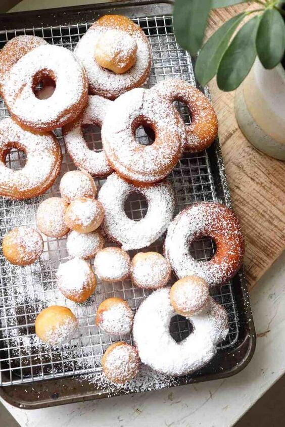 sourdough discard donuts recipe