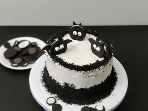 eggless oreo biscuit cake recipe