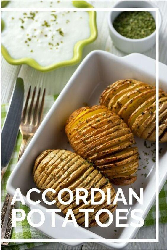 hasselback potatoes recipe