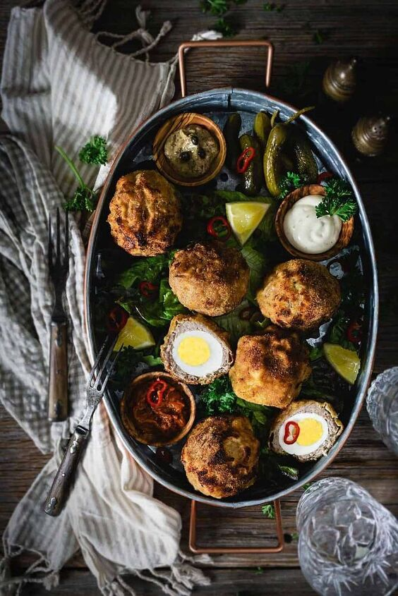 quick and easy air fryer scotch eggs
