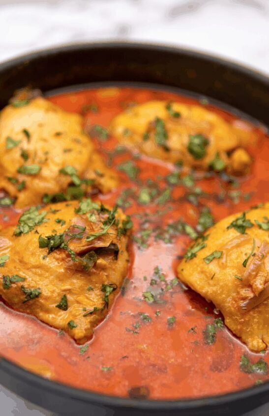 one pot coconut curry chicken thighs