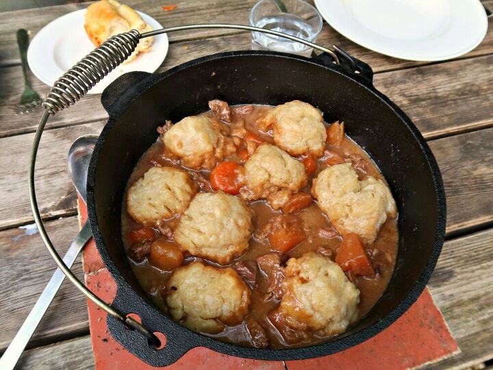 how to make campfire beef stew and dumplings