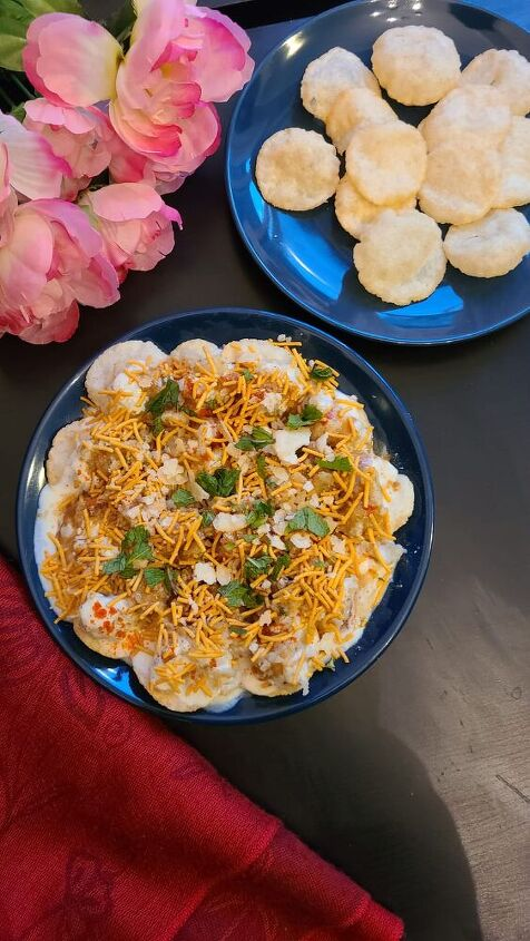 indian street food papdi chaat