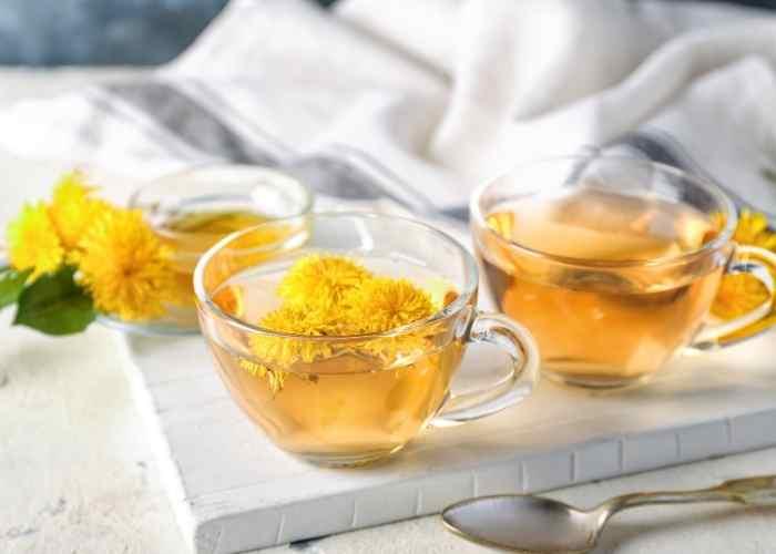 dandelion tea recipe