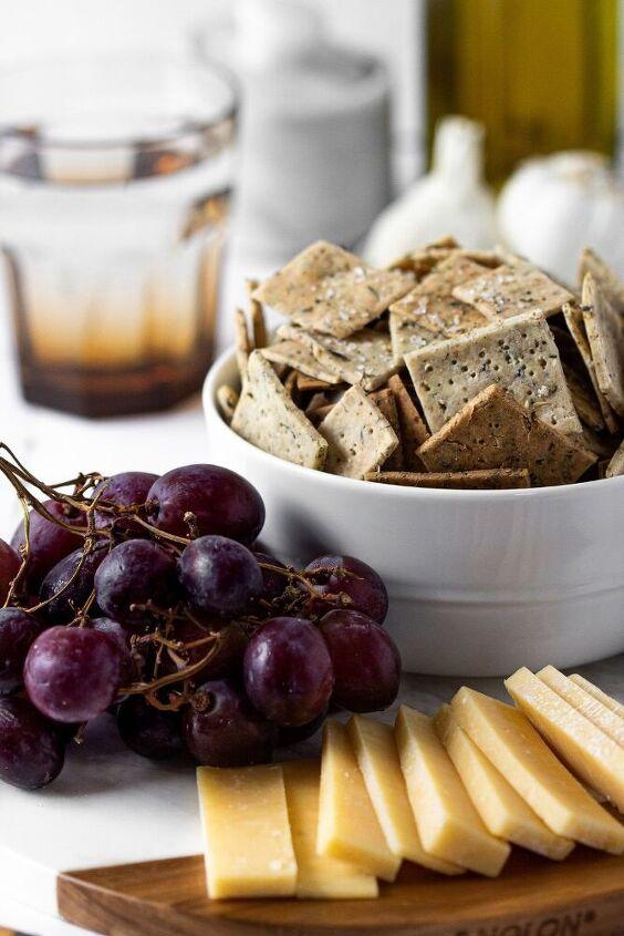 gluten free sourdough crackers