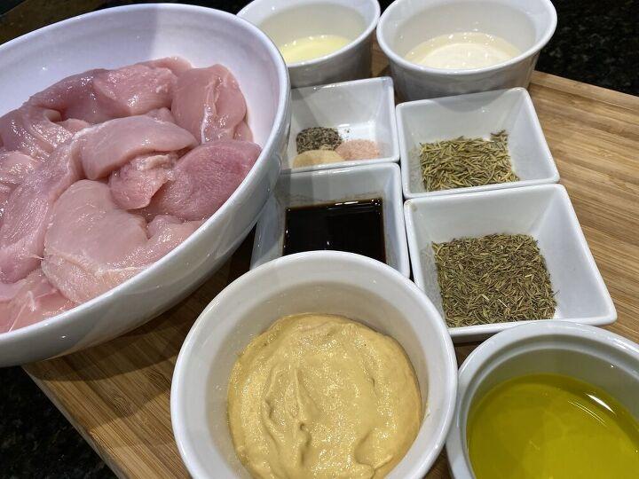 grilled dijon chicken breast freezer meal recipe